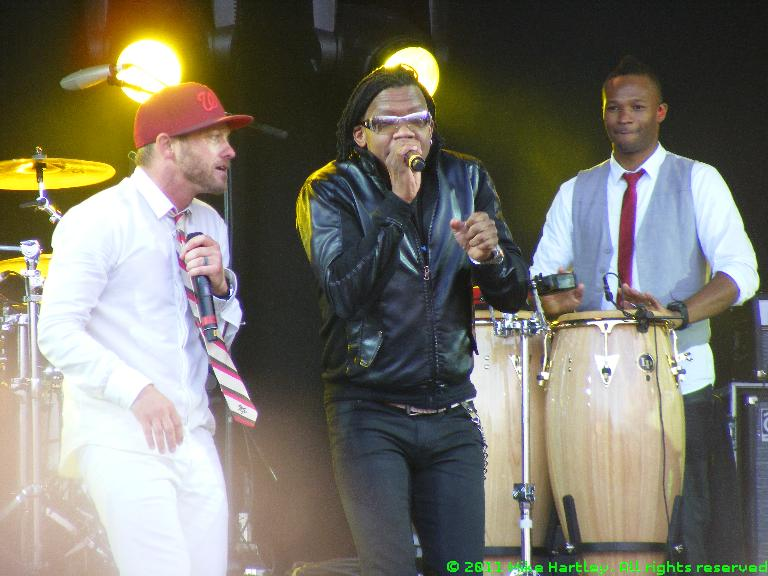 DC Talk @ The Big Church Day Out 2011