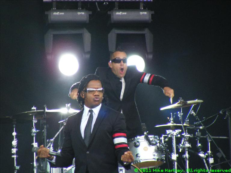 Newsboys @ The Big Church Day Out 2011