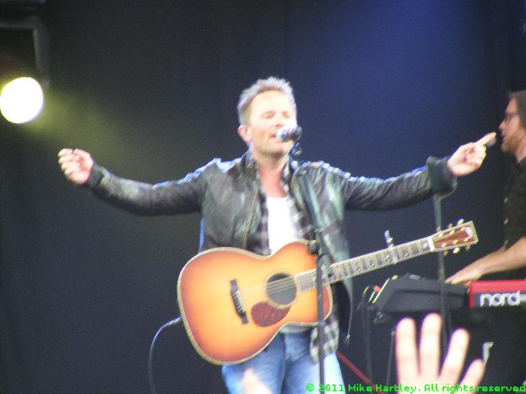 Chris Tomlin @ The Big Church Day Out 2011